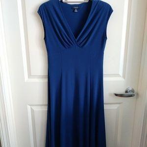 NWOT Ralph Lauren Royal Blue Swing Dress M